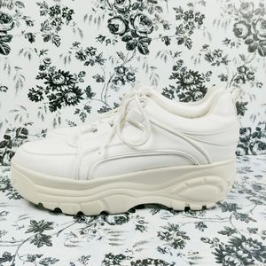 Madden Girl Sspice chunky platform sneakers 10